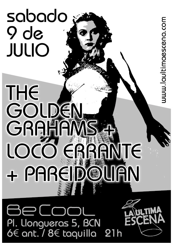The Golden Grahams + Loco Errante + Pareidolian